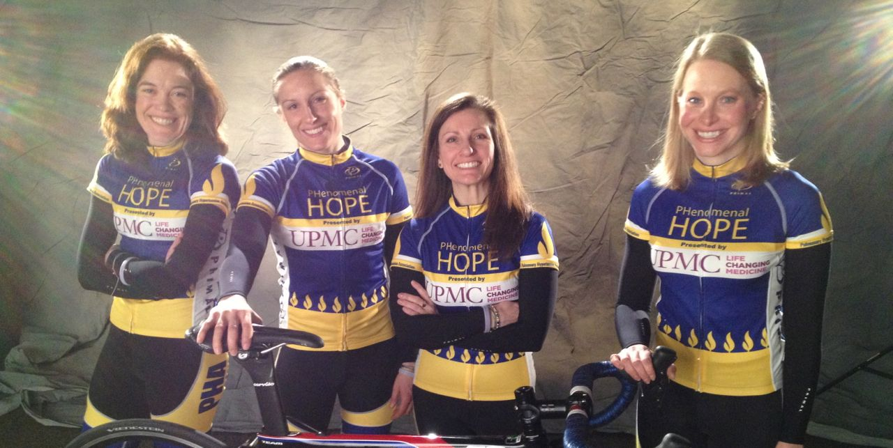 Team PHenomenal Hope Races Across America to Bring Awareness to Pulmonary Hypertension