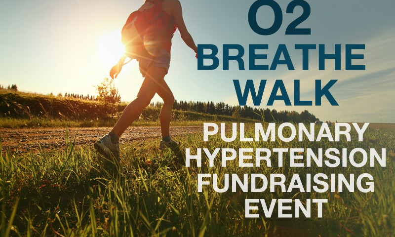 O2 Breathe Walk for Pulmonary Hypertension