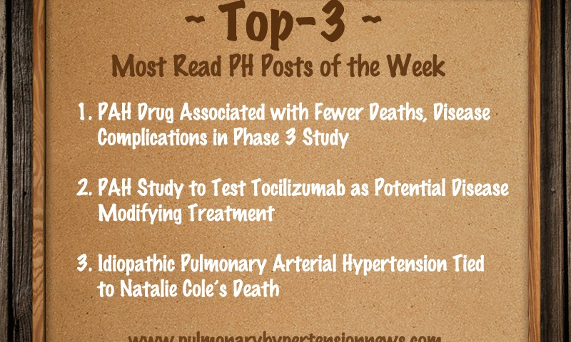 Last Week's Top-3 Most Read Posts On Pulmonary Hypertension