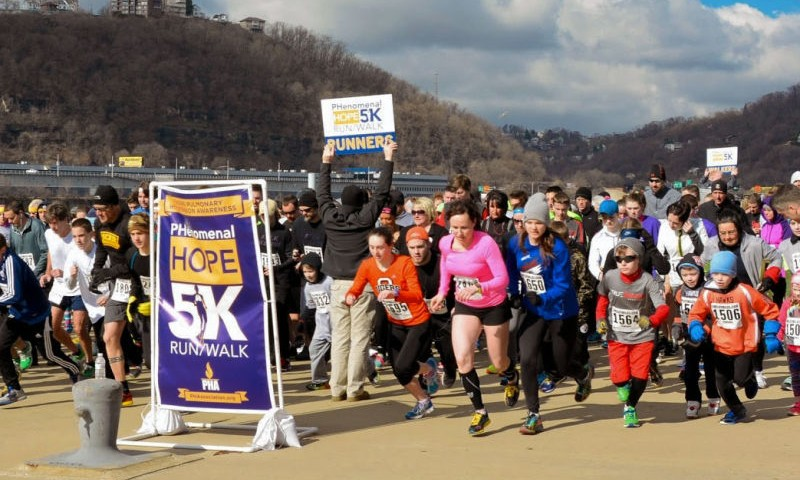 Team Phenomenal Hope Races on to Support PH Patients and New Research Efforts