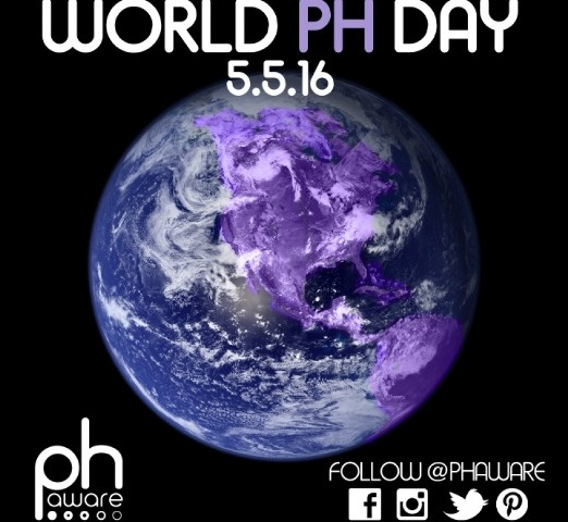 Step Up for PHAwareness on World Pulmonary Hypertension Day May 5