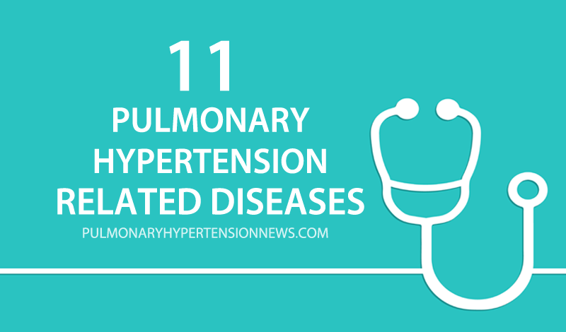 11 pulmonary hypertension related diseases
