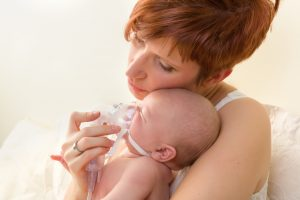 Oxygen treatment of newborns