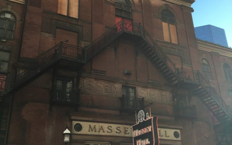 historic Massey Hall