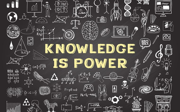 discussions, knowledge is power