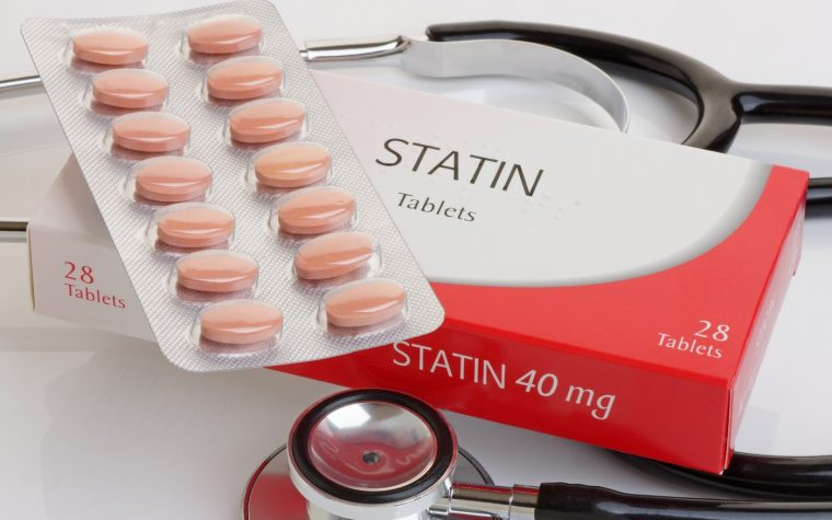 statin use and PH