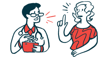 health-related quality of life/Pulmonary Hypertension News/doctor with clipboard speaking with patient illustration