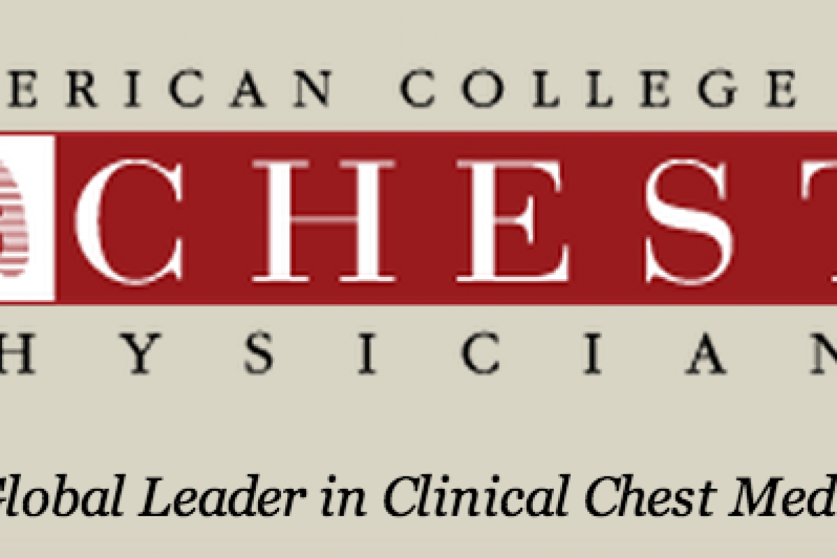 Updated PAH Guidelines Released By The American College of Chest Physicians